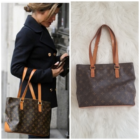 7ac2141b9e Louis Vuitton Handbags - Authentic LOUIS VUITTON Cabas Piano Tote Bag